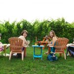 foursome-at-sandbanks-winery-cheers-to-the-camera
